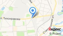 Шиномонтажная мастерская на ул. Нестеренко на карте
