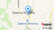 Амбулатория микрорайона Заветы Ильича на карте