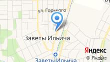 Детский сад №53, Дюймовочка на карте