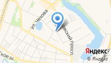 Российский центр защиты леса на карте