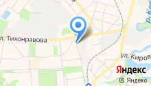 Автостоянка на ул. Нестеренко на карте