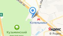 STAR кухни на карте