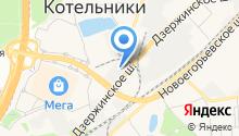 Краски.ру на карте