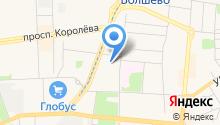 Отдел №12 Управления Федерального казначейства по Московской области на карте