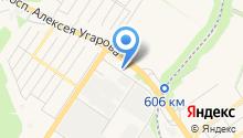Магазин подшипников на карте