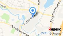 Пушкинская фабрика №2 на карте
