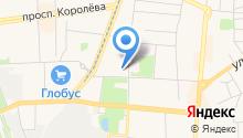 Королёвский отдел вневедомственной охраны на карте