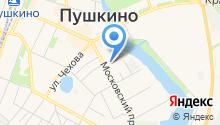 Краеведческий музей г. Пушкино на карте