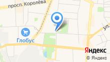 Инденто на карте