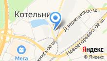 ЮМИКС на карте
