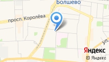 Магазин бижутерии на ул. Дзержинского на карте