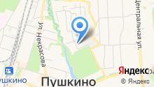 Пушкино-Телеком на карте