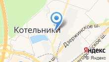 Котельниковская городская поликлиника на карте