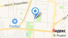 Королёвская городская похоронная служба на карте