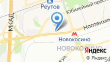 Реутов Моторс на карте