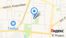 Королёвская городская больница на карте