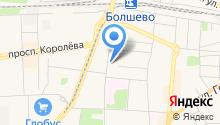 Мезон на карте