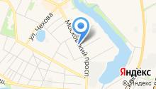 Мастерская на Московском на карте