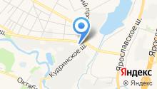 Ашан Сити на карте