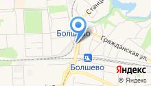 Зоомагазин на Станционной на карте