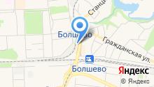Мерный Лоскут на карте