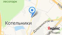 KDL на карте