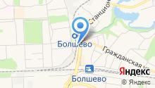 Магазин напольных покрытий и потолков на карте