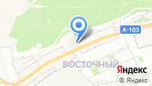 ДАВЕНТ на карте