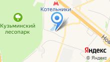 Дружок на карте