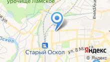 Окта на карте