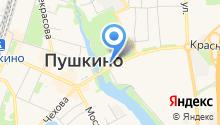 Магазин продуктов на карте