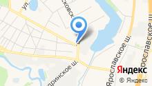 Храм Троицы Живоначальной в Пушкино на карте