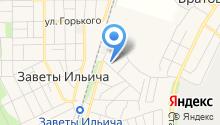 Почтовое отделение №141254 на карте