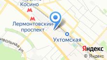 Ареал-Эксплуатация на карте