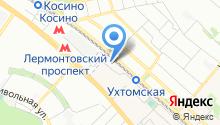 Автосервис на Колхозной на карте