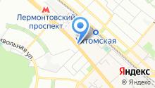 Дом быта на Октябрьском проспекте на карте