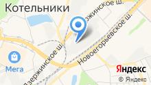 Актио Рус на карте