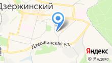 80-й км на карте