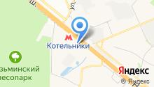 Акваформ Рус на карте