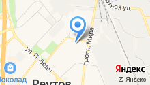 Почтовое отделение №143960 на карте