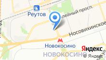 Мировые судьи Реутовского района на карте