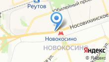 Станция Новокосино на карте