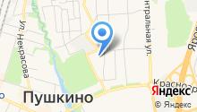 Всероссийский институт повышения квалификации руководящих работников и специалистов лесного хозяйства на карте
