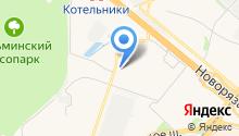 ПРОФИДЕНТ на карте