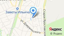 Храм Архистратига Михаила в Заветах Ильича на карте