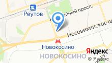 Почтовое отделение №143969 на карте