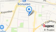 Дом быта на Полевом проезде на карте