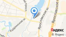 Отдел по работе с территорией и развитию общественного самоуправления микрорайона Арманд г. Пушкино на карте
