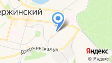 ЗАГС г. Дзержинского на карте