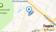 Магазин фруктов и овощей на Кузьминской на карте